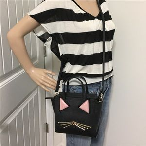 New Kate spade Cats meow satchel crossbody